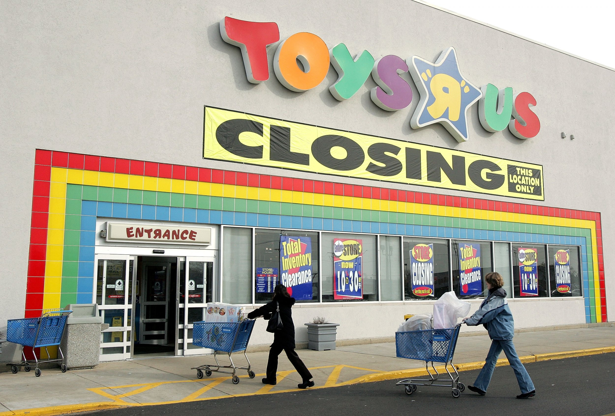 Toys R Us May Be Going Out Of Business 10 To 15 Percent