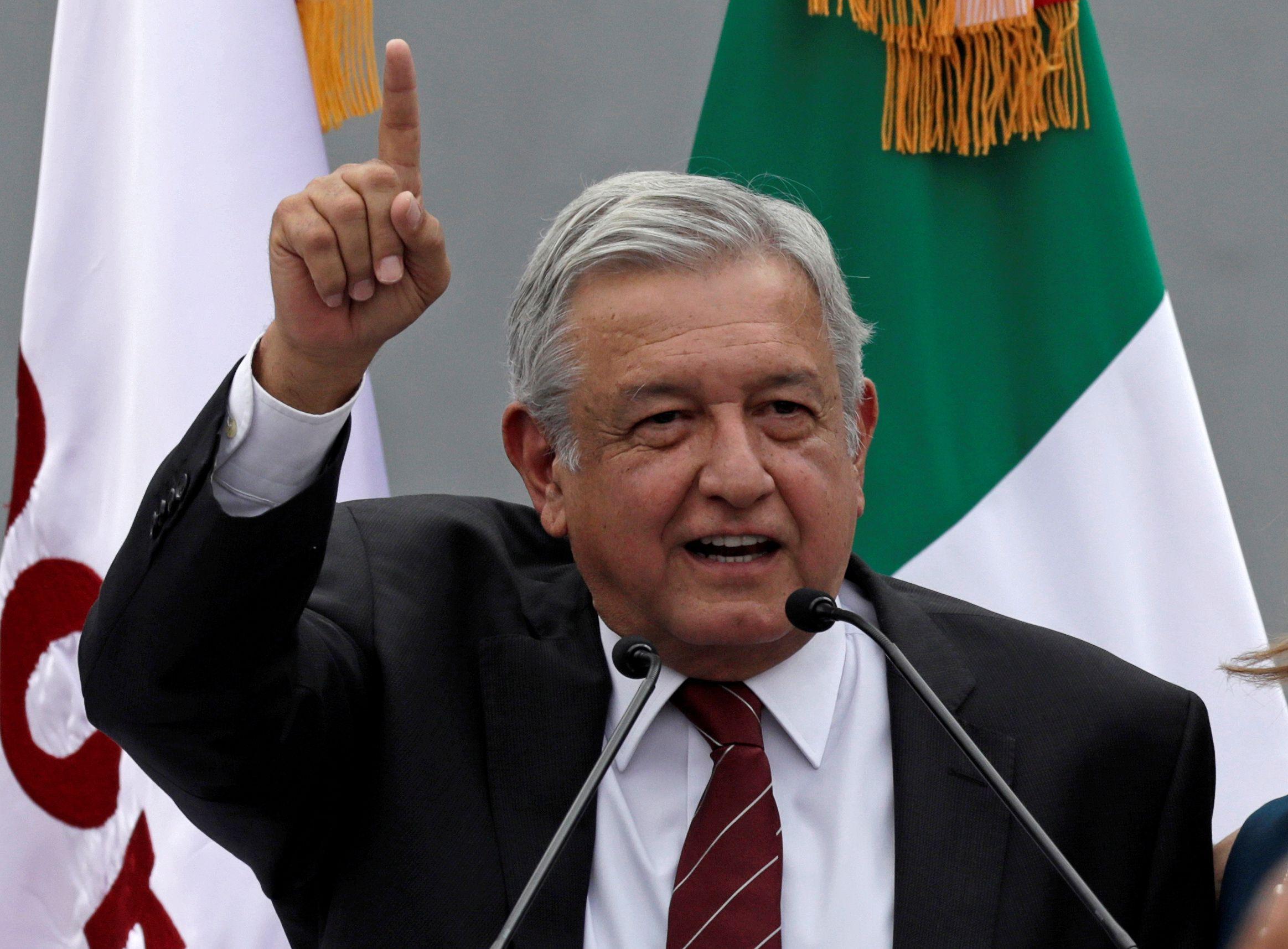 Image result for Lopez Obrador, photos