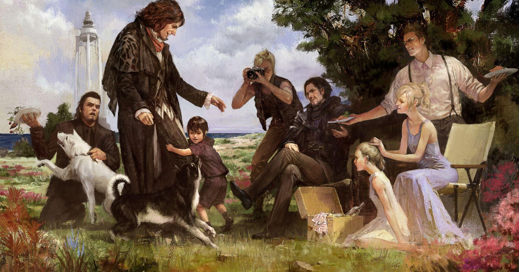 Final Fantasy XV Will Get Four More DLC Episodes Including Ardyn Luna And Aranea