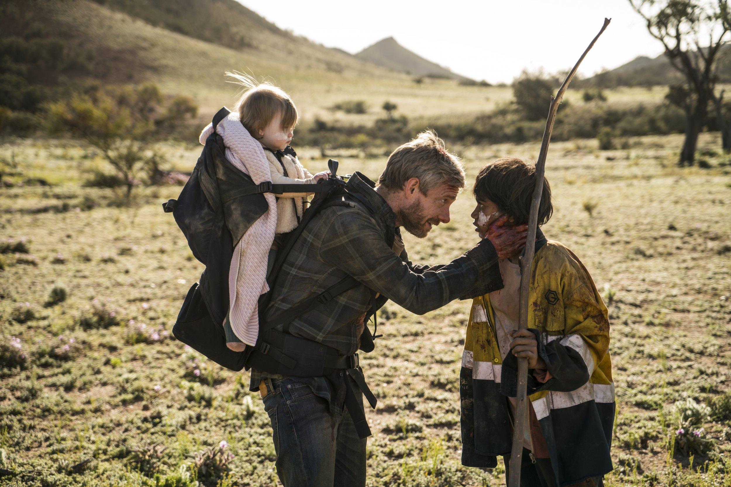 Netflix Zombie Movie Cargo Transforms Martin Freeman