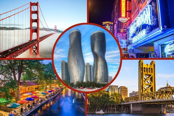Ranked: The North American Cities with the Highest Quality ...