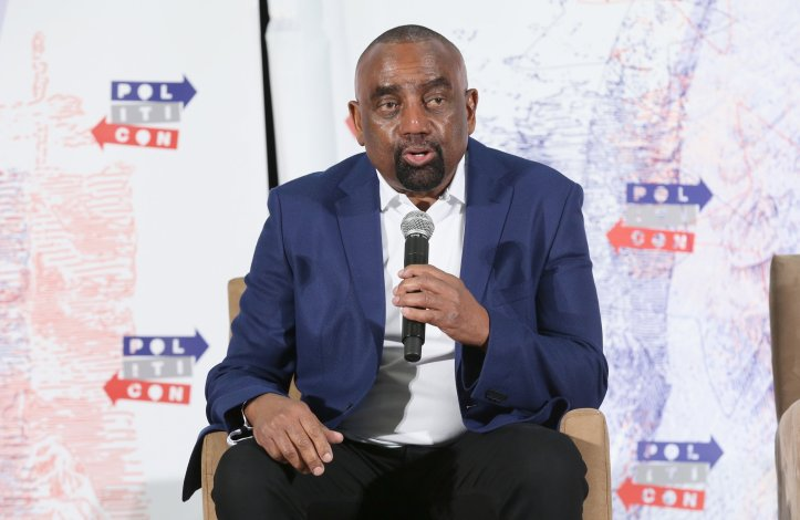 """Right-wing radio host Jesse Lee Peterson recently claimed on his show he doesn't """"really know what it means"""" for someone to be a white supremacist in New Zealand.GETTY IMAGES PHILLIP FARAONE/STRINGER"""