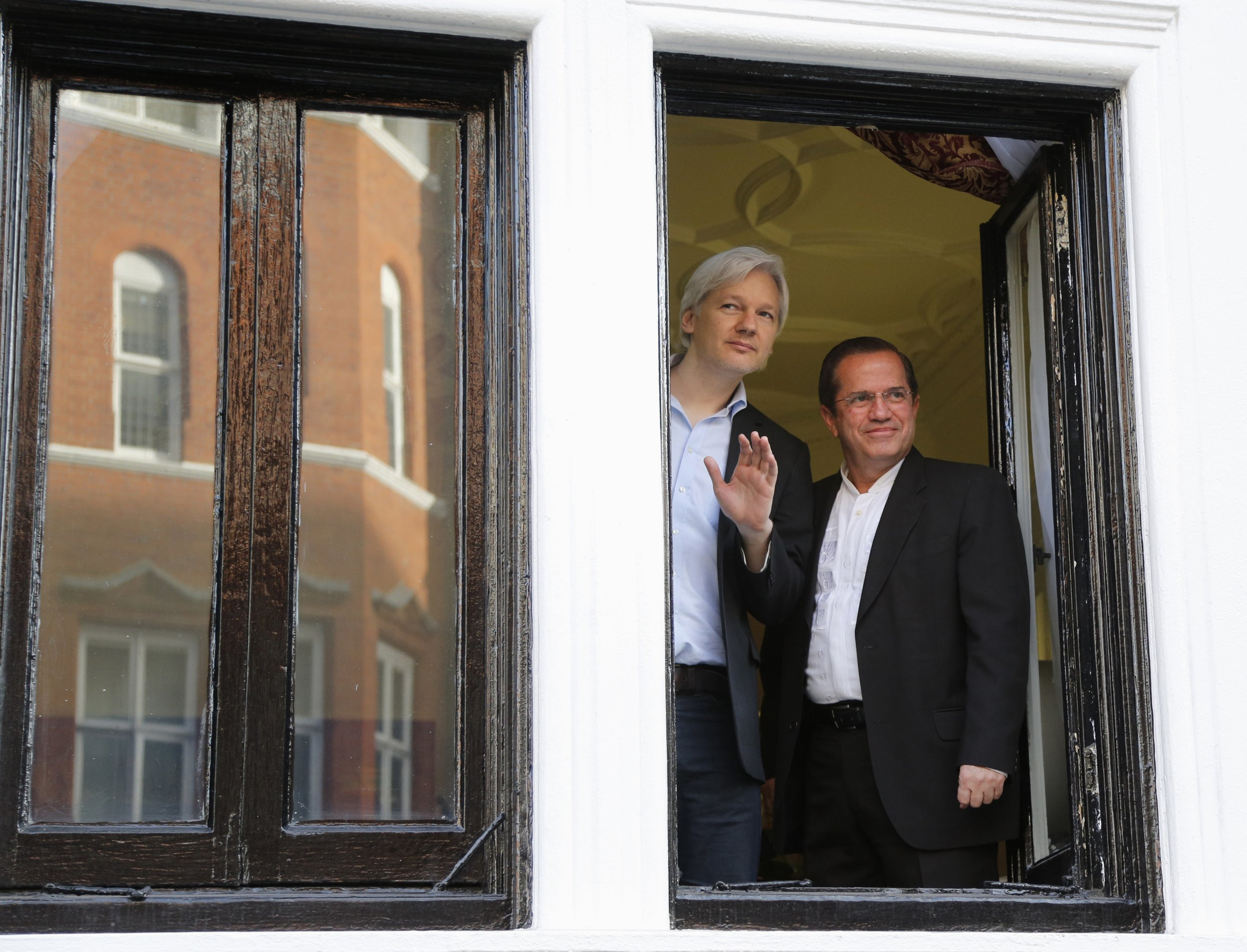 Assange embassy