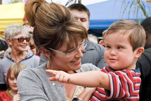 Life With Trig: Sarah Palin on Raising a Special-Needs Child