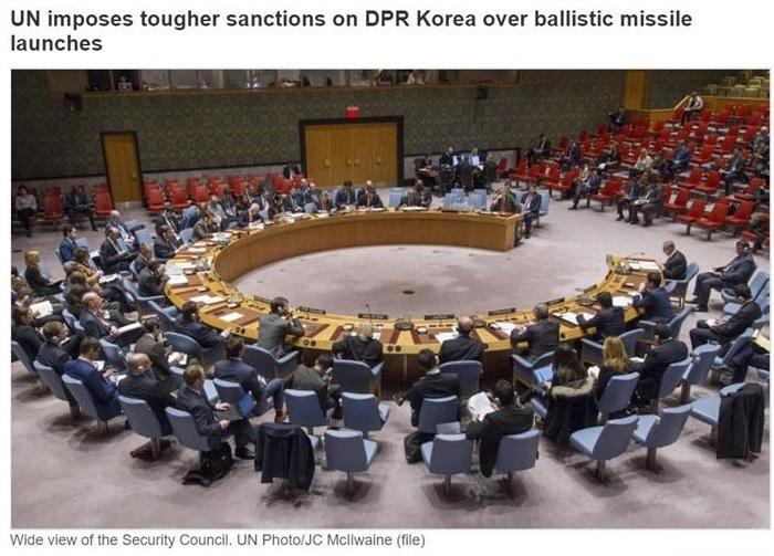 聯合國安理會無異議通過 嚴厲制裁北韓 | 國際 | 新頭殼 Newtalk