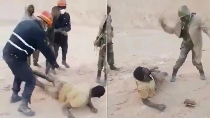 Deux mineurs artisanaux entrés frauduleusement dans une concession minière ont été sauvagement tabassés par des militaires mardi 20 juillet.