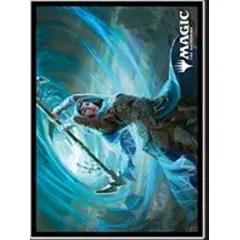 MAGIC: The Gathering Players Card Sleeve: Zendikar Rising Sea Gate Stormcaller (MTGS-148) Ensky