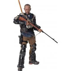 The Walking Dead 1/6 Scale Action Figure: Morgan Jones Season 7 Threezero