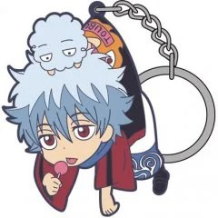 GINTAMA TSUMAMARE KEYCHAIN: WINTER COSTUME GIN-SAN (RE-RUN) Cospa