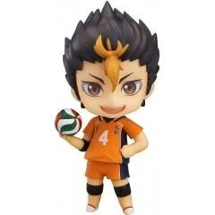 NENDOROID NO. 592 HAIKYU!! SECOND SEASON: YU NISHINOYA (RE-RUN) Orange Rouge