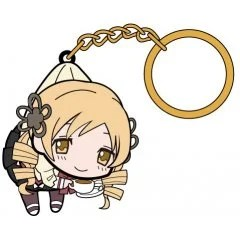 PUELLA MAGI MADOKA MAGICA THE MOVIE PART 3 REBELLION TSUMAMARE KEY RING: TOMOE MAMI SCHOOL UNIFORM VER. (RE-RUN) Cospa