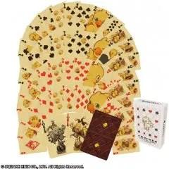 CHOCOBO PLAYING CARD (RE-RUN) Square Enix