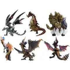 CAPCOM FIGURE BUILDER MONSTER HUNTER STANDARD MODEL PLUS VOL. 8 (SET OF 6 PIECES) (RE-RUN) Capcom