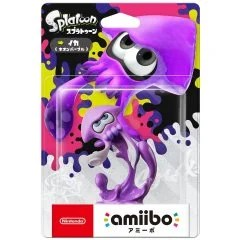 AMIIBO SPLATOON SERIES FIGURE (IKA NEON PURPLE) LIMITED EDITION