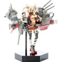 KANTAI COLLECTION -KANCOLLE- PLAMAX MF-18 1/20 SCALE MODEL KIT: MINIMUM FACTORY MUSASHI (RE-RUN) Max Factory