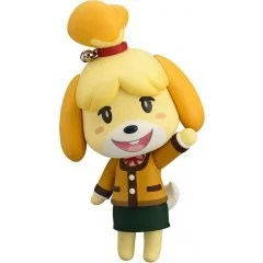 NENDOROID NO. 386 ANIMAL CROSSING NEW LEAF: SHIZUE (ISABELLE) WINTER VER. (RE-RUN) Good Smile