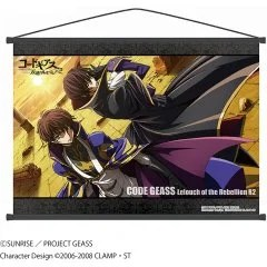 CODE GEASS LELOUCH OF THE REBELLION WALL SCROLL C: LELOUCH & SUZAKU by PROOF