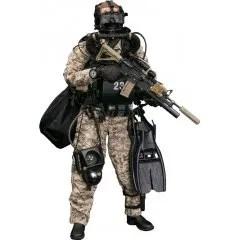Damtoys 1/6 Scale Figure: Marine Force Recon Combat Diver Desert Marpat Ver. - Damtoys