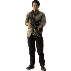 THE WALKING DEAD 1/6 SCALE PRE-PAINTED ACTION FIGURE: GLENN RHEE Threezero