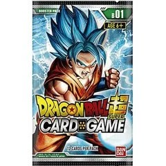 DRAGON BALL SUPER CARD GAME BOOSTER PACK: GALACTIC BATTLE Tamashii (Bandai Toys)