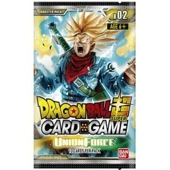 DRAGON BALL SUPER CARD GAME BOOSTER PACK: UNION FORCE Tamashii (Bandai Toys)