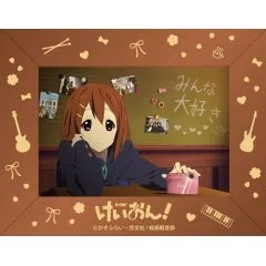 K-ON! PHOTO STAND MUSIC BOX (TUNE - FUDE PEN BALLPEN) Matsumoto Shoji