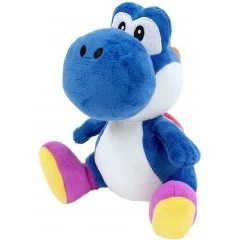 SUPER MARIO ALL STAR COLLECTION PLUSH: AC44 BLUE YOSHI (SMALL) San-ei Boeki