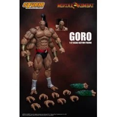 MORTAL KOMBAT 1/12 SCALE PRE-PAINTED ACTION FIGURE: GORO Storm Collectibles