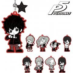 PERSONA 5 TRADING RUBBER STRAP (SET OF 9 PIECES) armabianca