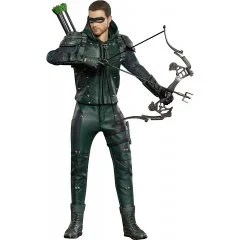 STAR ACE TOYS REAL MASTER SERIES GREEN ARROW 1/8 COLLECTABLE ACTION FIGURE: ARROW Star Ace Toys