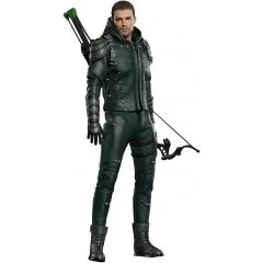 STAR ACE TOYS REAL MASTER SERIES GREEN ARROW 1/8 COLLECTABLE ACTION FIGURE: ARROW [DELUXE VER.] Star Ace Toys