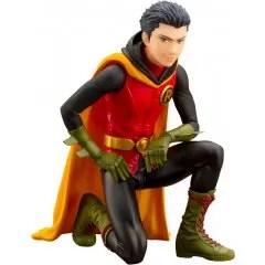 DC COMICS IKEMEN SERIES BATMAN 1/7 SCALE PRE-PAINTED FIGURE: DAMIAN ROBIN [FIRST RELEASE LIMITED EDITION] Kotobukiya
