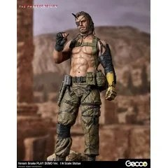 METAL GEAR SOLID V THE PHANTOM PAIN 1/6 SCALE PRE-PAINTED STATUE: VENOM SNAKE PLAY DEMO VER. Gecco