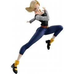 DRAGON BALL GALS DRAGON BALL Z PRE-PAINTED PVC FIGURE: ANDROID 18 VER. IV Mega House