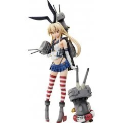 KANTAI COLLECTION -KANCOLLE- 1/4 SCALE PRE-PAINTED FIGURE: SHIMAKAZE [GSC ONLINE SHOP EXCLUSIVE VER.] Freeing