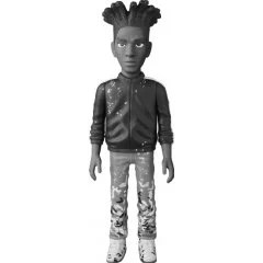 VINYL COLLECTIBLE DOLLS: JEAN-MICHEL BASQUIAT B&W VER. Medicom