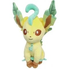 POCKET MONSTERS ALL STAR COLLECTION PLUSH PP123: LEAFEON (S) San-ei Boeki