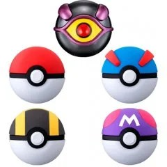 POCKET MONSTERS BALL COLLECTION MEWTWO (SET OF 8 PIECES) Tamashii (Bandai Toys)