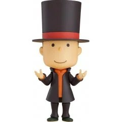 NENDOROID NO. 1076 LAYTON MYSTERY DETECTIVE AGENCY - KAT'S MYSTERY SOLVING FILES: PROFESSOR LAYTON Good Smile