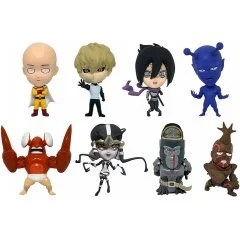 16D COLLECTIBLE FIGURE COLLECTION: ONE PUNCH MAN VOL. 1 (SET OF 8 PIECES) 16 directions