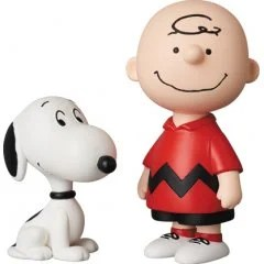 PEANUTS SERIES 10 ULTRA DETAIL FIGURE: CHARLIE BROWN & SNOOPY Medicom