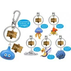 DRAGON QUEST FRIENDLY MONSTERS KEYCHAIN (SET OF 12 PIECES) Square Enix