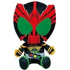 HEISEI KAMEN RIDER CHIBI PLUSH SERIES: KAMEN RIDER OOO Tamashii (Bandai Toys)