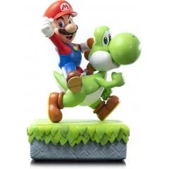 SUPER MARIO STATUE: MARIO AND YOSHI STANDARD EDITION First4Figures