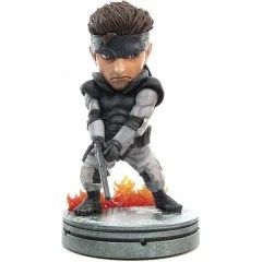 METAL GEAR SOLID PVC PAINTED STATUE: SOLID SNAKE STANDARD EDITION First4Figures