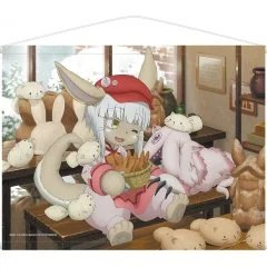 MADE IN ABYSS ORIGINAL ILLUSTRATION WALL SCROLL: LEPUS NANACHI armabianca