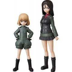 ULTRA DETAIL FIGURE GIRLS UND PANZER DAS FINALE 1/16 SCALE PRE-PAINTED FIGURE: KATYUSHA & NONNA SET Medicom