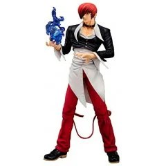 THE KING OF FIGHTERS '97 1/8 SCALE PRE-PAINTED FIGURE: IORI YAGAMI Emon Toys