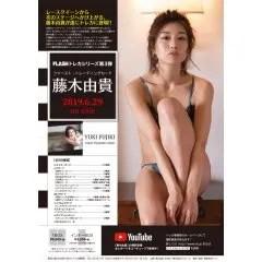 FLASH TRADING CARD SERIES VOL. 3 YUKI FUJIKI FIRST TRADING CARD Hits