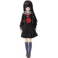 ANOTHER REALISTIC CHARACTERS NO.011 HELL GIRL THE FOURTH TWILIGHT 1/6 SCALE FASHION DOLL: AI ENMA OBITSU SCHOOL UNIFORM PROJECT COLLABORATION MODEL Azone